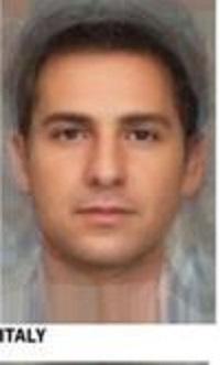 イタリア平均顔男性