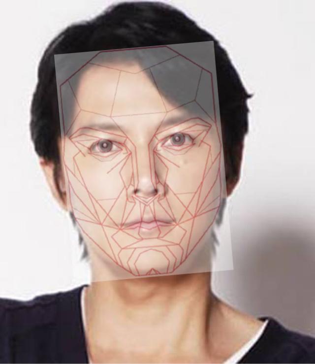 福山雅治さんは黄金比の顔?